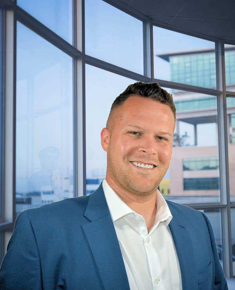 Tom davis, owner branddad digital, headshot in office