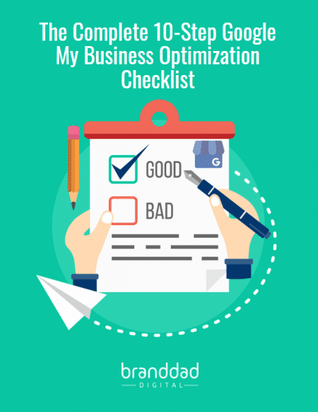 10-step google my business optimization checklist cover photo