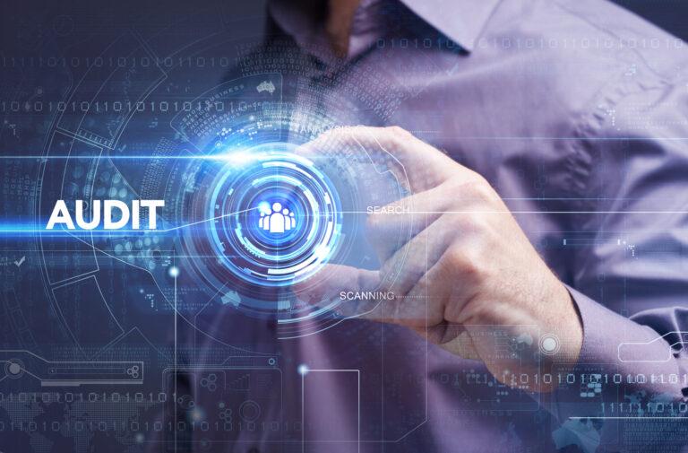 Business, Technology, Internet and Website Audit concept.