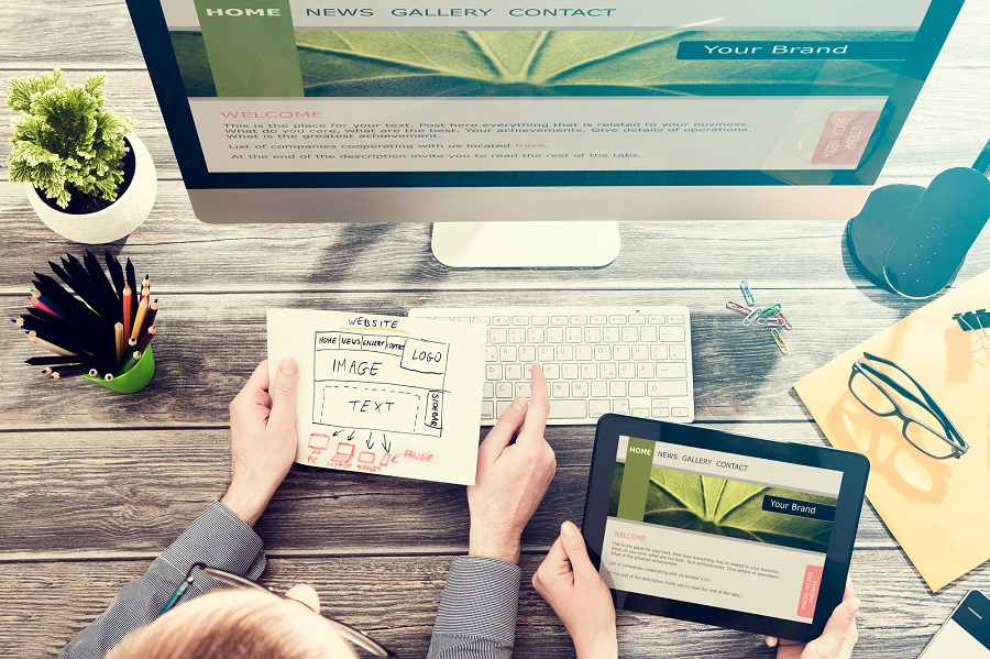 Companies benefitting from hiring a website designer