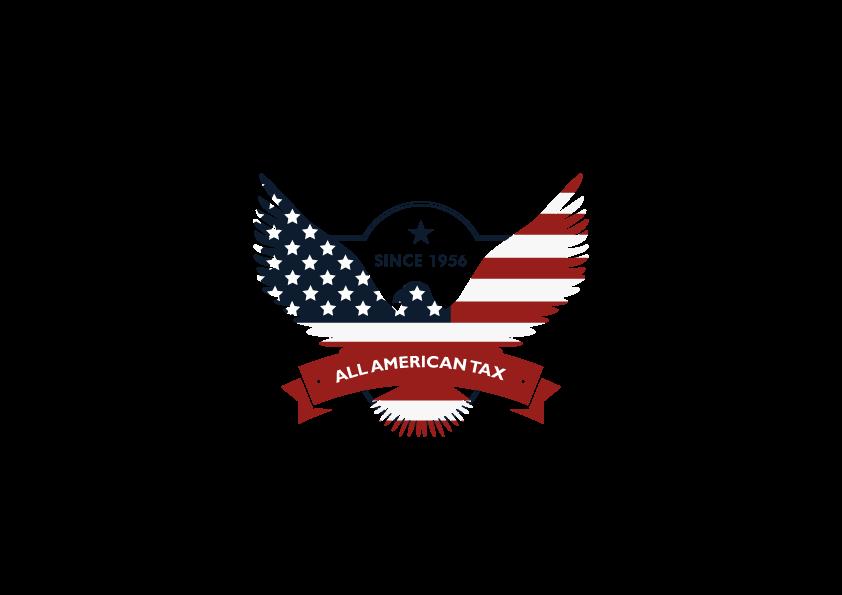 All american tax service logo