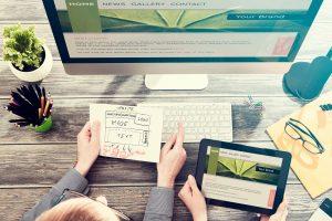 Responsive web design; website design ideas